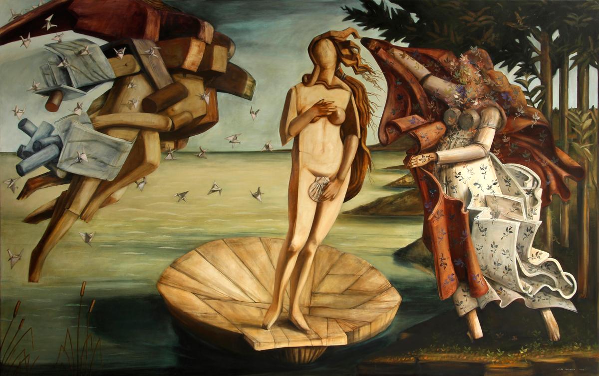 jose-ibarrola-botticelli-pintura